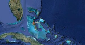 """The """"Andros Archipelago"""" is located approximately 140 miles from Fort Lauderdale, Fl - Fresh Creek Adventures Octagon Rental Bahamas Islands Andros Geography"""