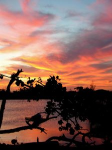 Andros Island Sunset <br> Fresh Creek, Andros Island, Bahamas - Fresh Creek Adventures Octagon Rental Bahamas Islands Andros Geography