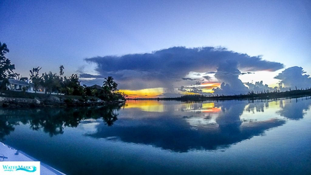 Fresh Creek Andros Island, Bahamas Sunset
