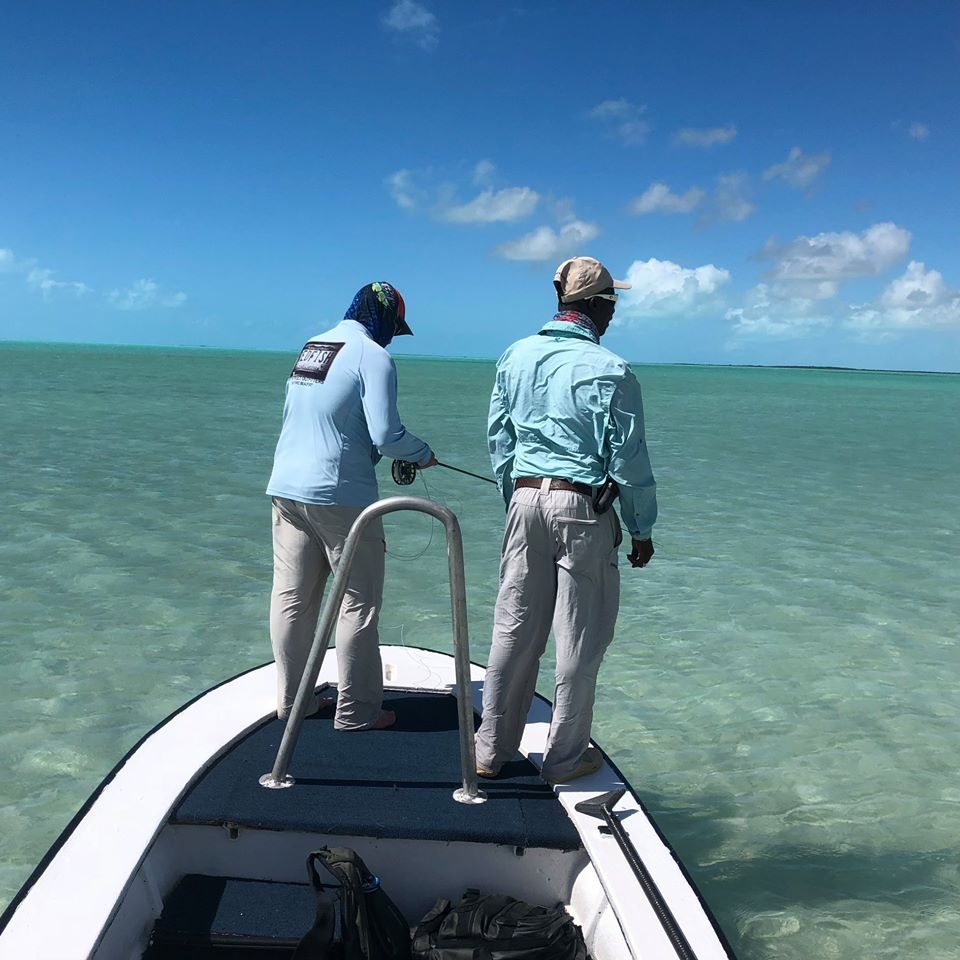Casting Lessons - Fresh Creek Adventures Andros Island, Bahamas